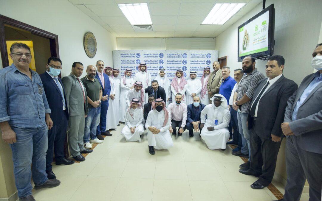 مشاركة الموظفين في احتفالية الشركة لليوم الوطني